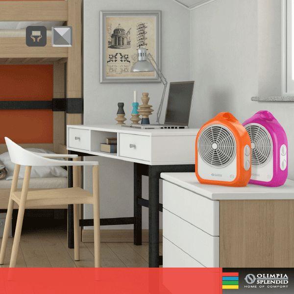 Fluo Fuxia e Fluo Orange, i piccoli della gamma, i termoventilatori ad aghi dal #design 100% italiano, by Ercoli e Garlandini. http://www.olimpiasplendid.it/riscaldamento-trattamento-aria/riscaldamento-casa/fluo