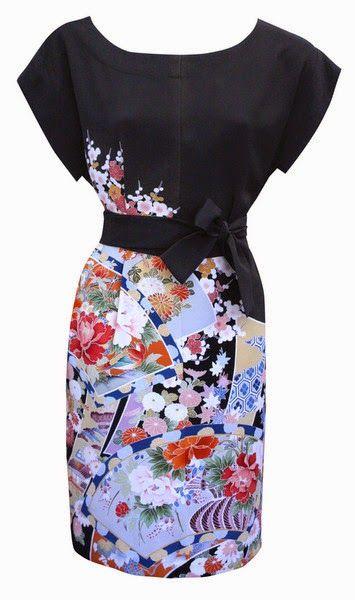 J.Kaori Sews: Refashioning a Kimono: Ideas
