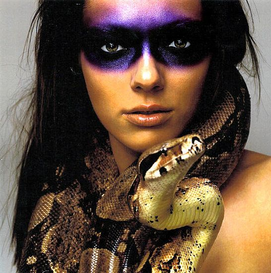 #1: Hissy Fit    Even compared to 12 other cycles, season one nabs the top spot. Intense makeup and a slithering snake make for intense, spooky, beautiful photos.