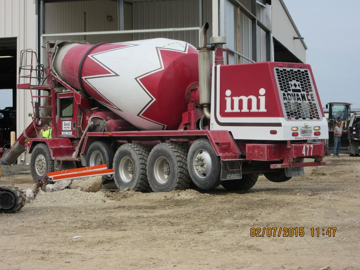 Front Load Mixer ~ Imi irving materials advance cement mixer my truck