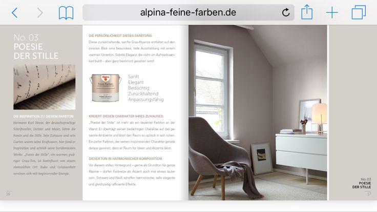 25 beste idee n over alpina farben op pinterest feine farben alpina wandfarbe en feine. Black Bedroom Furniture Sets. Home Design Ideas