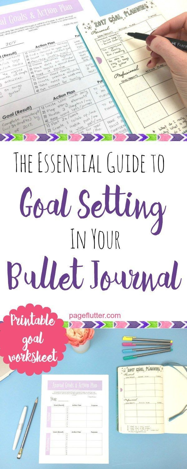 The dress journal of vision - Essential Guide To Goal Setting In Your Bullet Journal