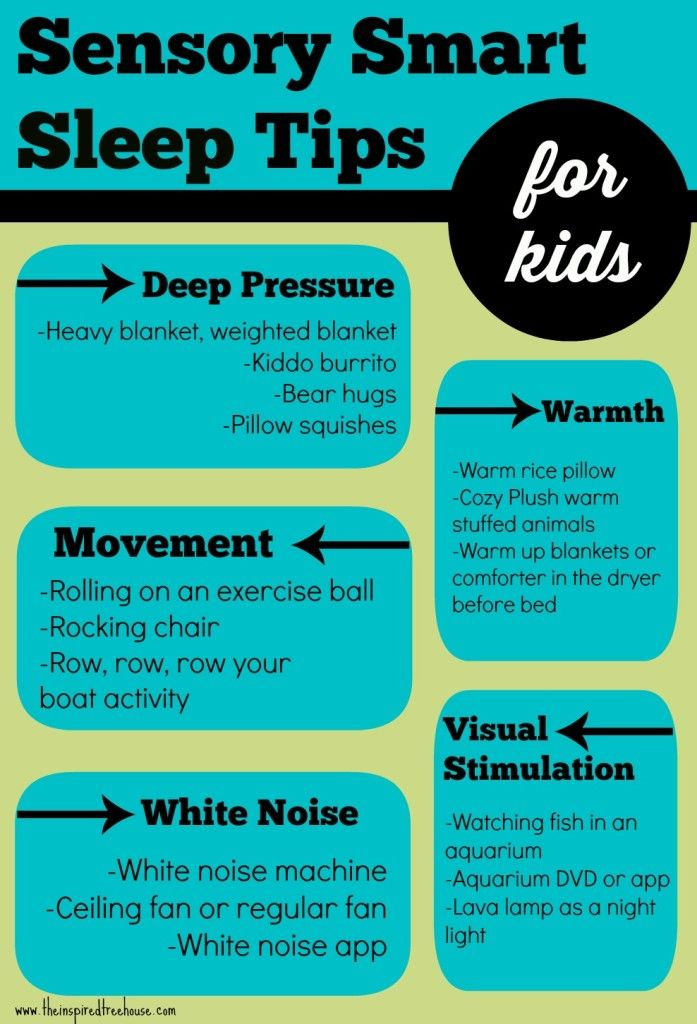 sensory smart sleep tips for kids