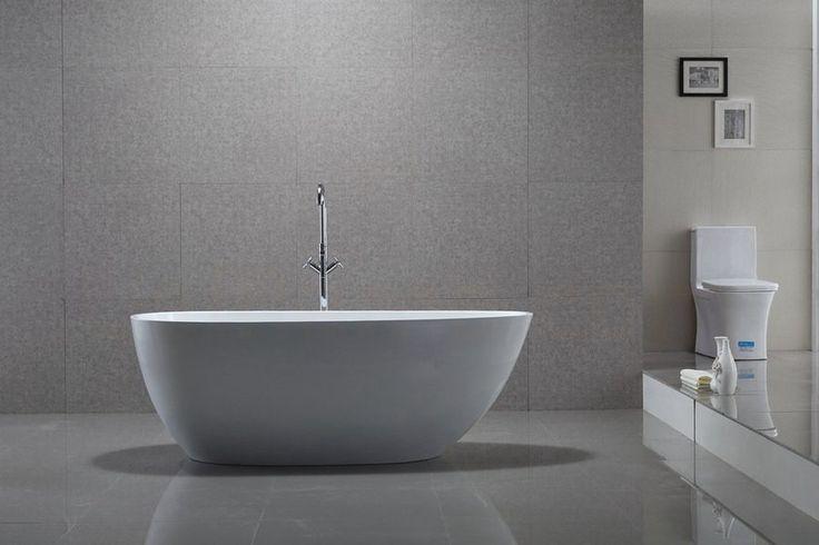 Baignoire ilot pas cher design contemporain 150 x 75 cm EGG Baignoire ilot pas cher [usrb1576] - 759,00€ :