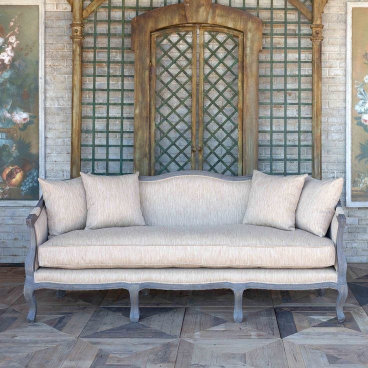 Jacque Parlor Settee | Painted Fox Home in 2020 | Painted ... on Blue Fox Outdoor Living id=17484