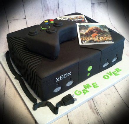 Xbox grooms cake  Cake by Skmaestas - this screams my brother!!!! Haha