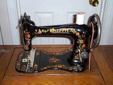 white rotary treadle sewing machine manual