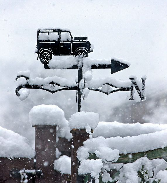 The Pinehurst Land Rover Weather Vane - love this one too.