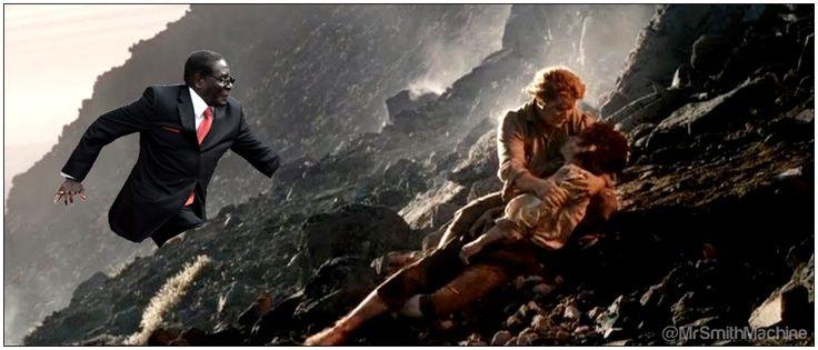 #BobLastSeen simply walking into Mordor.