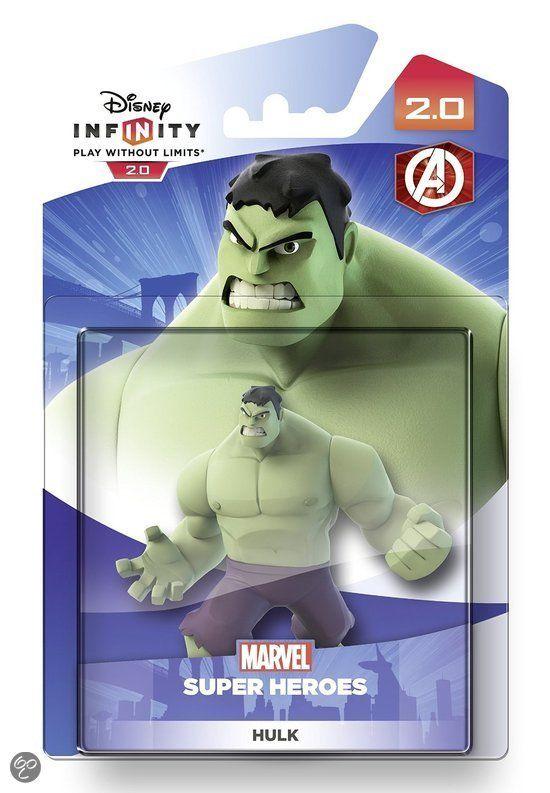 bol.com | Disney Infinity 2.0 Figuur - Hulk (Wii U + PS4 + PS3 + XboxOne + Xbox360),Disney...