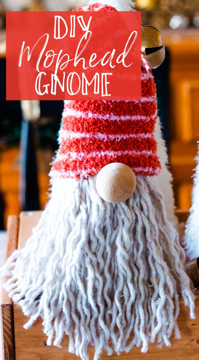 DIY Dollar Tree Gnome for Christmas Gnomes, Crafts