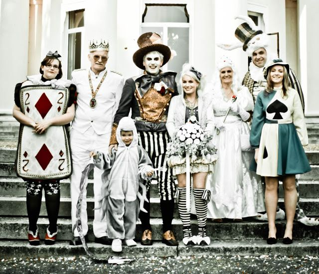 Now These Are Some Very Inventive Costumes For The Wedding Party Cool
