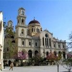 The St. Minas Cathedral, Heraklion Crete