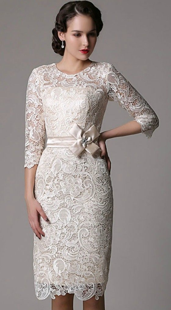 17 best images about mature beauty bride on pinterest for Old lady wedding dresses