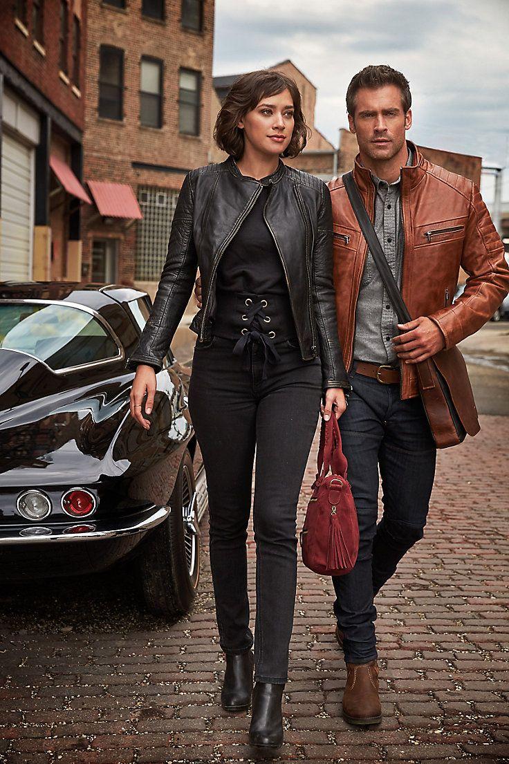 20456f395e0 Chelsea Lambskin Leather Moto Jacket in 2019   Stuffed strawberries   Lambskin  leather, Leather, Moto jacket