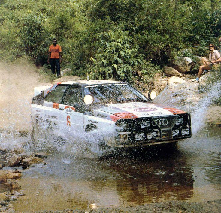 Hannu Mikkola & Arne Hertz - Audi Quattro - 1983 Safari Rally