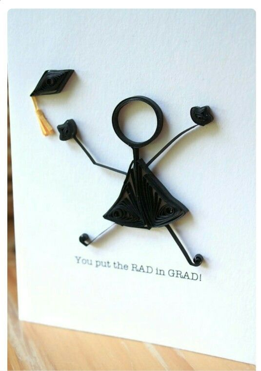 RAD in GRAD Quilled Card @ Rs. 199