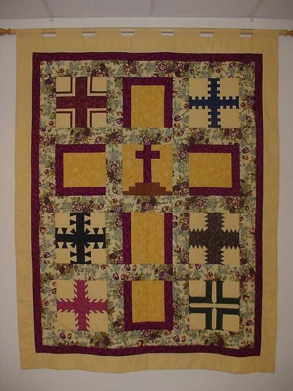 241 Best Quilts Crosses Biblical Images On Pinterest
