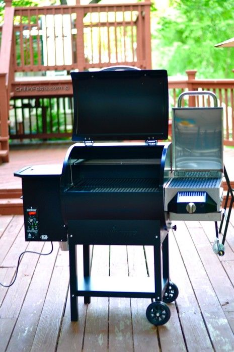 A thorough review of the Camp Chef SmokePro DLX Pellet Grill with side Sear Box…