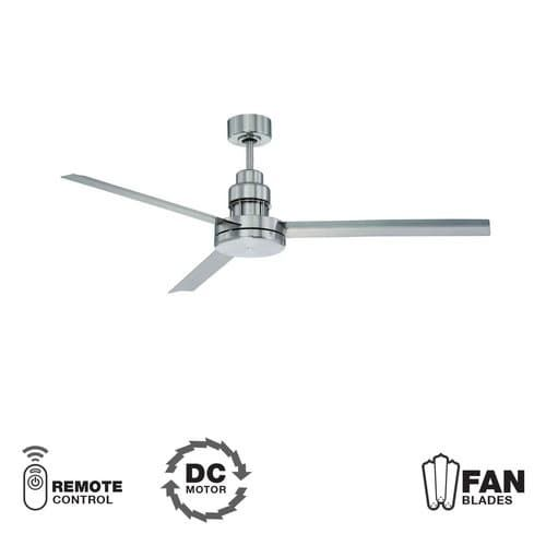 Craftmade MND543 Mondo 54 3 Blade Indoor / Outdoor Ceiling Fan - Blades and Remote Included (Espresso (Brown) Finish)