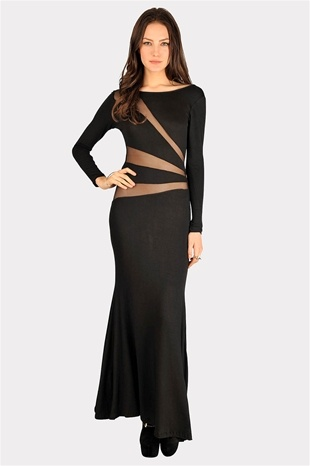#Necessary Clothing night dress Friday Night Maxi Dress Black Friday Night Maxi