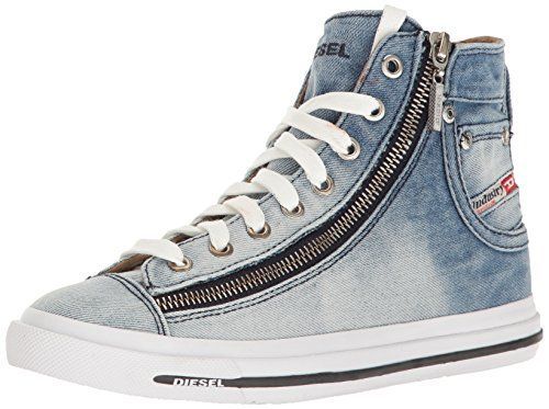 Diesel Women's Magnete Expo-Zip W Fashion Sneaker, Indigo, 10 M US