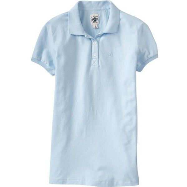 Old Navy Womens Pique Polos - Something blue ($7) ❤ liked on Polyvore featuring tops, shirts, polo, old navy, women, fitted polo shirts, embroidery polo shirts, short sleeve shirts, embroidered polo shirts and short sleeve tops