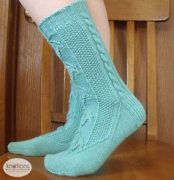 31 best Knitted Socks - Free Patterns images on Pinterest | Knit ...
