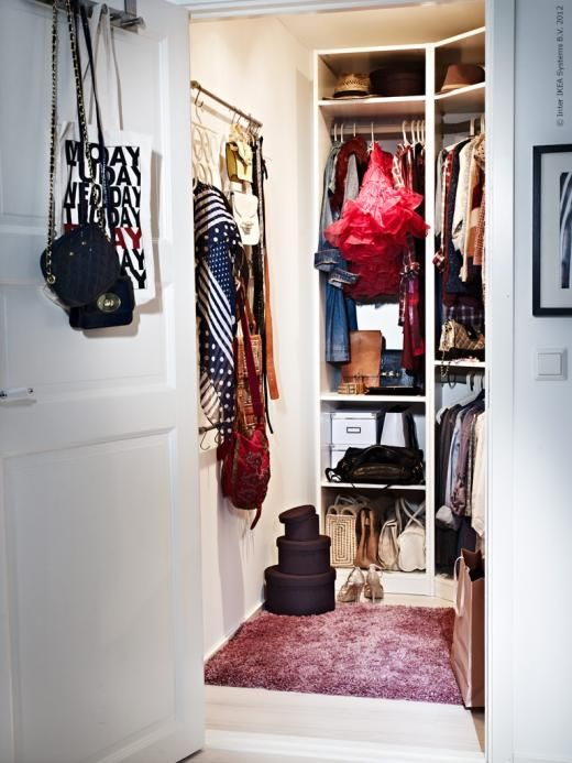 17 best images about walk in closet on pinterest closet - Armarios roperos de ikea ...