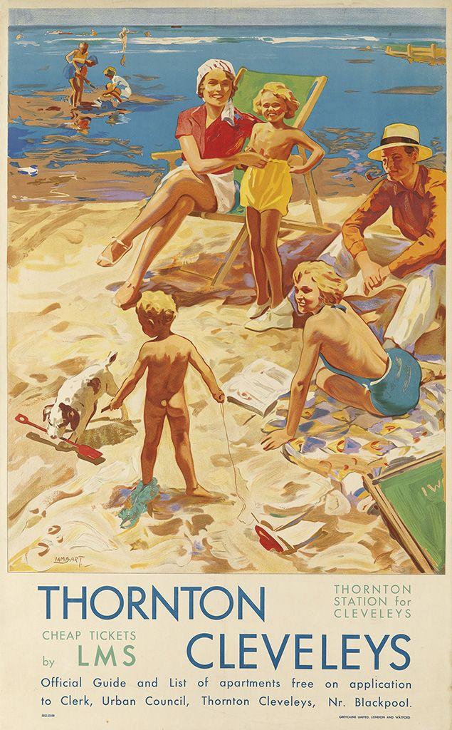 LANCASHIRE - Thornton Cleveleys LMS 1951 (Alfred Lambart)