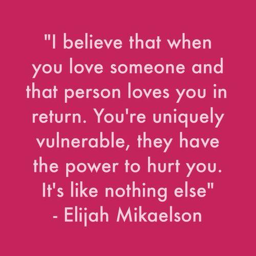 The Originals season 1 ep. 11 Elijah Mikaelson..beautifuly said