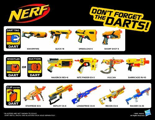 Nerf N-Strike Recon CS-6 Dart Blaster - Refill and Reload   - Click image twice for more info - See a larger selection of Nerf at http://zkidstoys.com/product-category/nerf/ - kids, toddler, child, children, toys, toy gun, kids gift ideas, activity toys, toddler gift ideas, holidays, christmas , boys, little boys