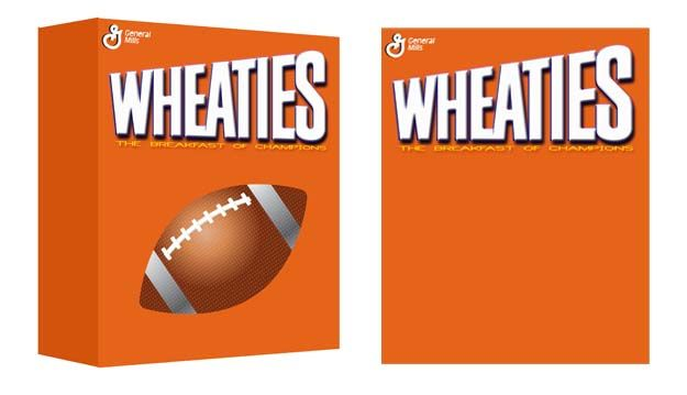 activity wheaties box photo background party planning