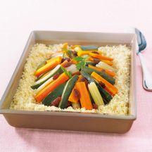 Cocotte de légumes au couscous