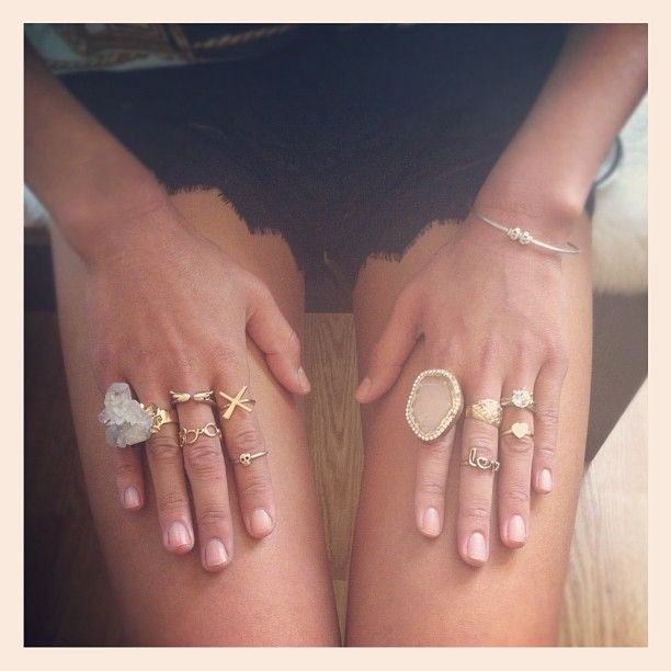 Dreamy boho gold & crystal adornment. Raw & delicate.
