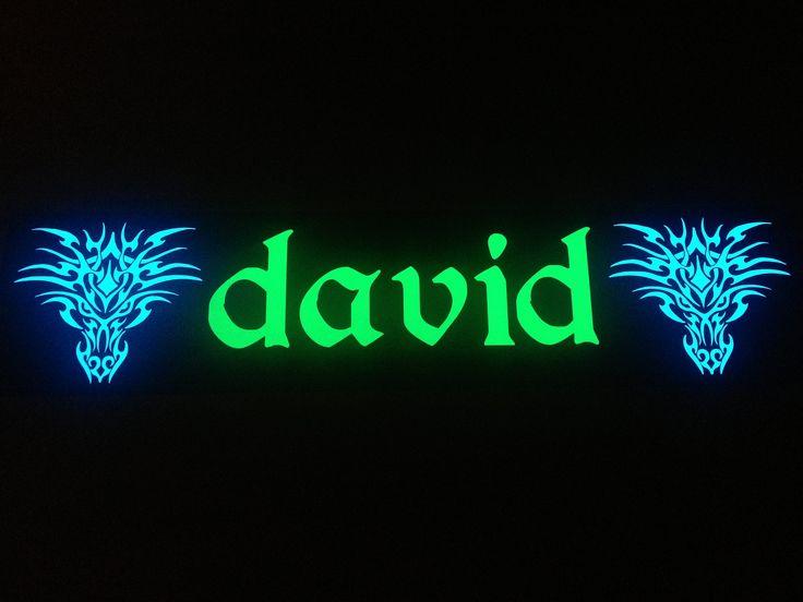 plaque pr nom camion david plaques lumineuses personnalis es pinterest david. Black Bedroom Furniture Sets. Home Design Ideas