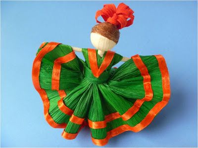 Corn husk doll. | Amarna IMAGES: CRAFT