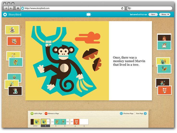 Web site: Storybird - http://storybird.com | Designer: Zeus Jones - http://archive.zeusjones.com