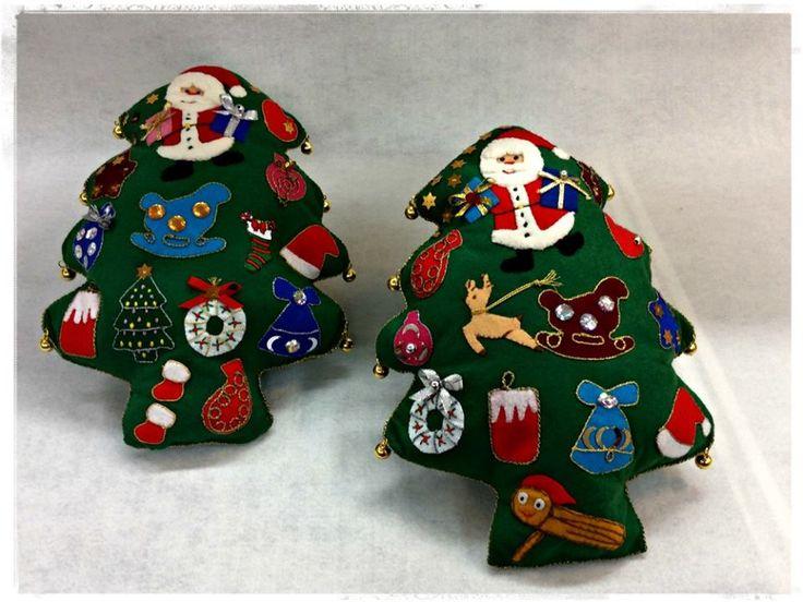Algunes idees per decorar i ambientar aquest Nadal. Creació elaborada per Isabel #merceria #calella #elpedacet #labores #madeyourdelf