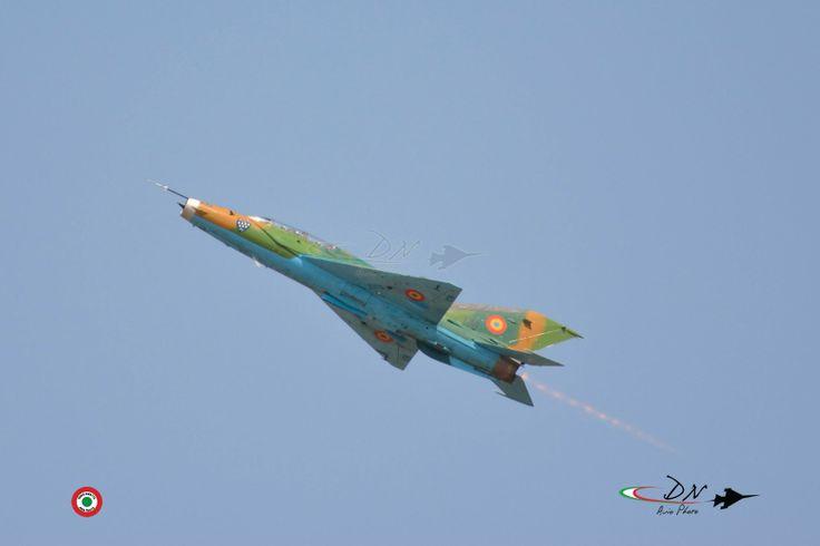 MIG 21 LANCER ROMANIAN AIR FORCE www.dnaviophoto.it