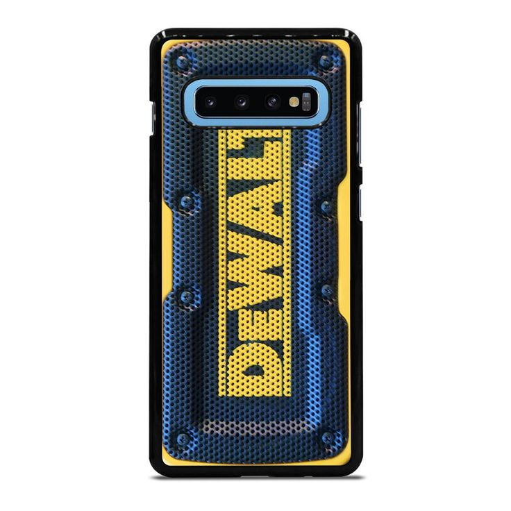 DEWALT JOBSITE SPEAKER Samsung Galaxy S10 Plus Case Cover