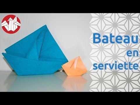Le modèle que je vous présente aujourd'hui est un origami de Janine Huet. Vous pourrez plier ce bateau tout simple dans du papier ordinaire comme sur la phot...