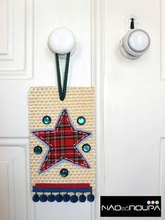 Decorações de Natal (para portas)