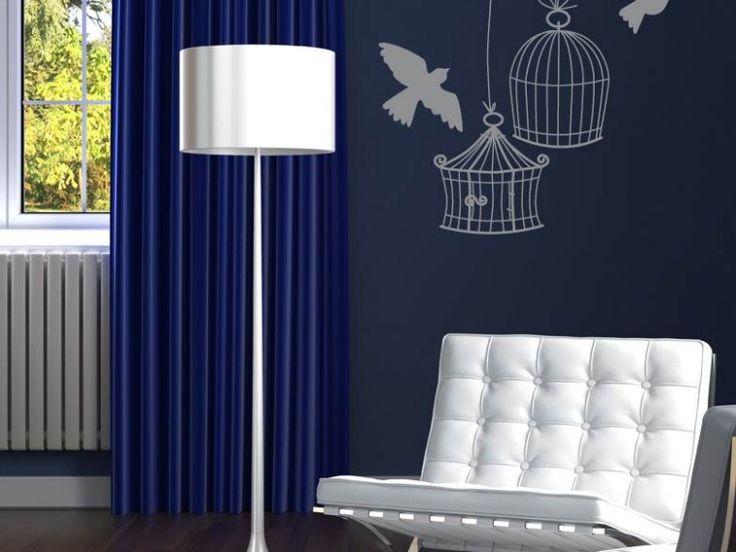 Gabbiette e colombe > Collezione Oggetti Le mura non sono mai una gabbia, quando la fantasia è libera di volare alto. Una metafora che diventa sticker murale. #wallstickers #mycollection #room #colour #design #home #office #living #stuff #bird