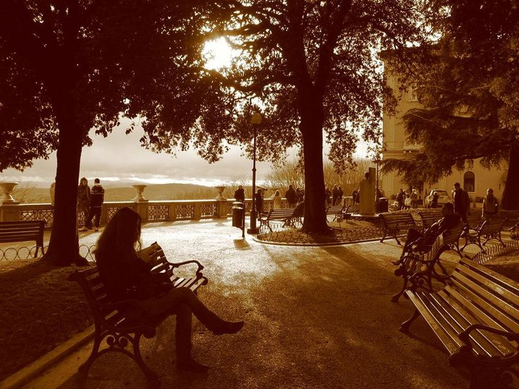 Park in Perugia by Maria  Vincentios on 500px