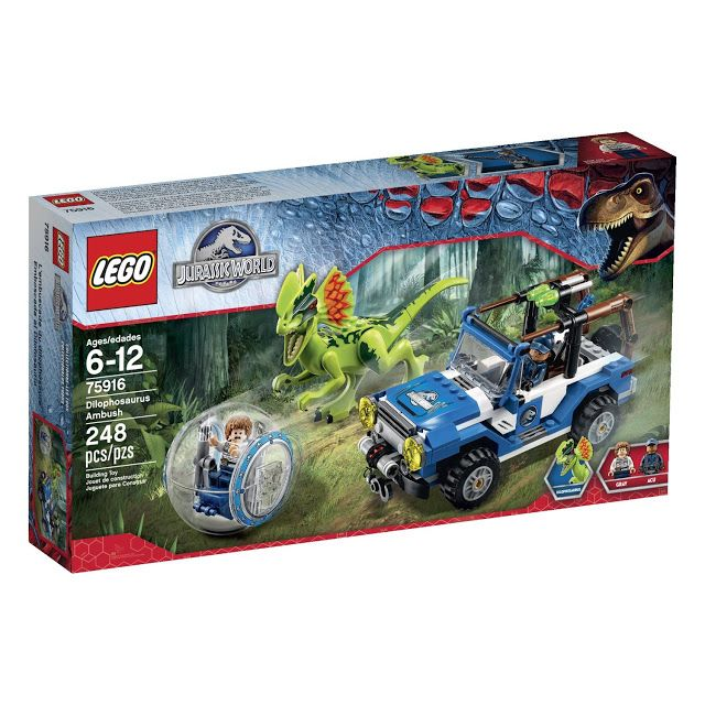 See  the latest LEGO Jurassic World sets. The movie Jurassic World, was released on 12 June 2015. These sets are great gift ideas for boys and girls.