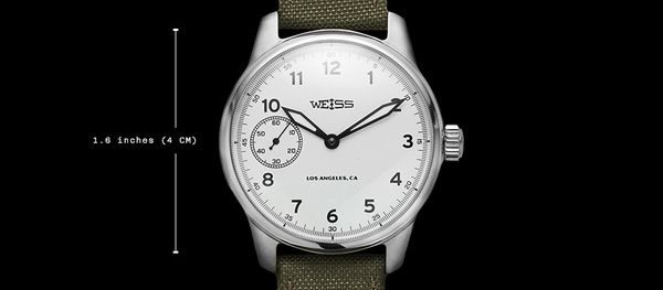 Weiss Field Watch (White Dial)