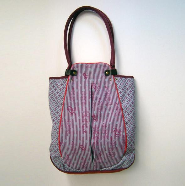 lucie shopping bag by anna kaszer. Black Bedroom Furniture Sets. Home Design Ideas