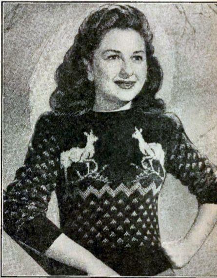Vintage Sweater Patterns Sweater Grey