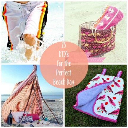 25 DIYs for the Perfect Beach Day || Babble